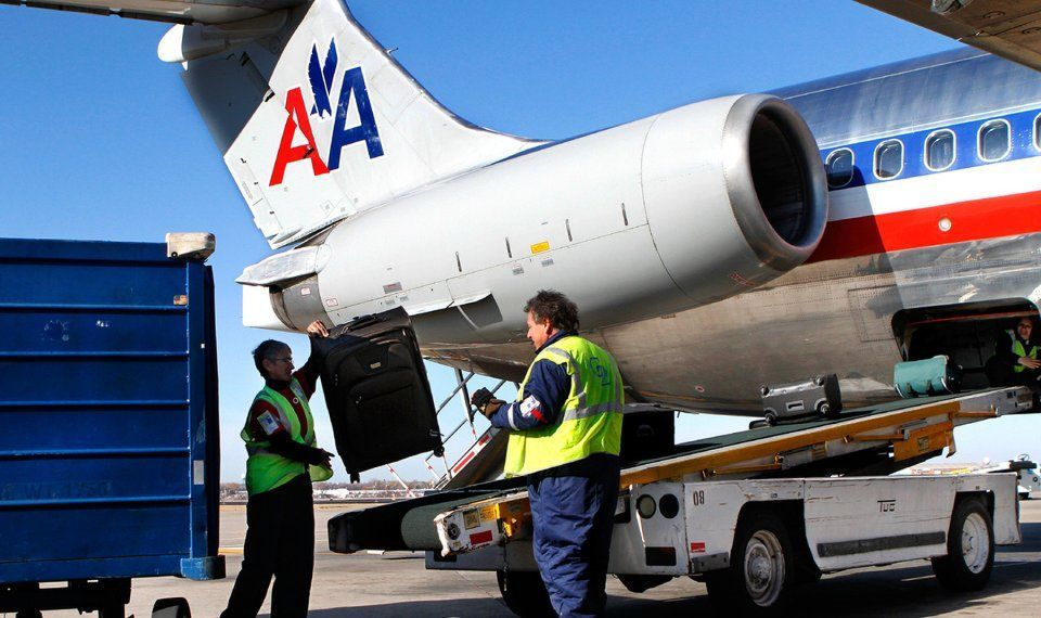 AA offers two free checked baggage