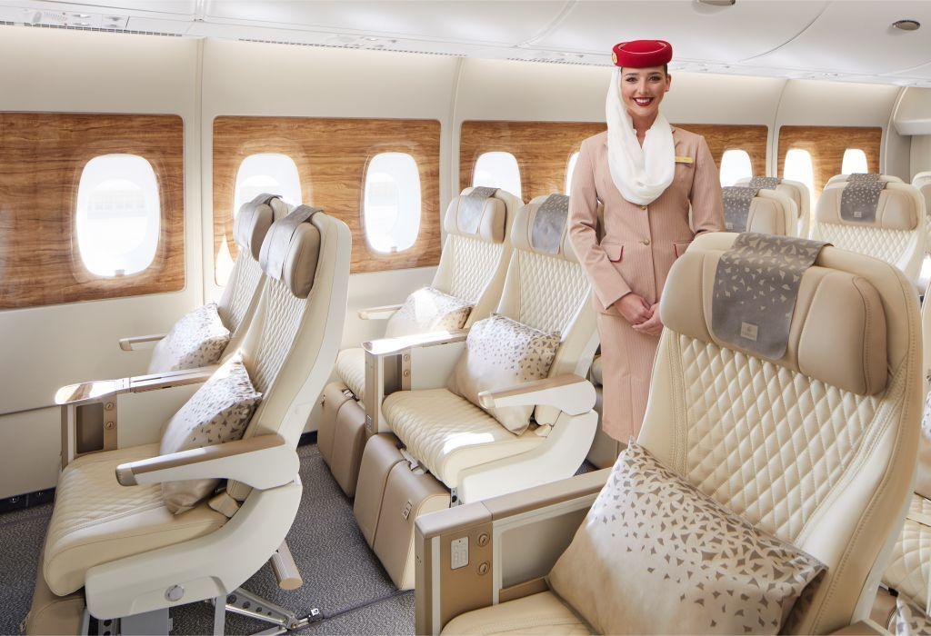 Emirates New Economy Class