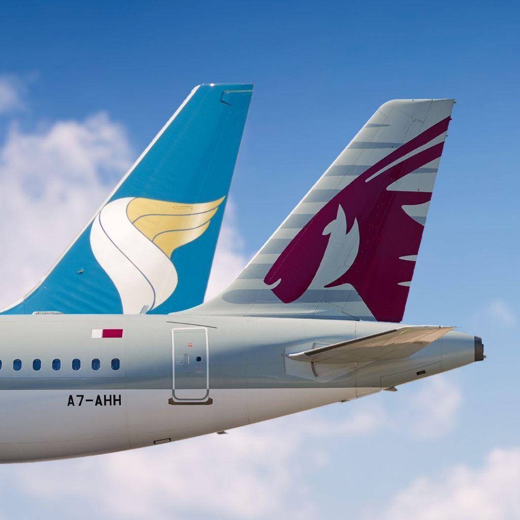 Qatar Airways and Oman Air