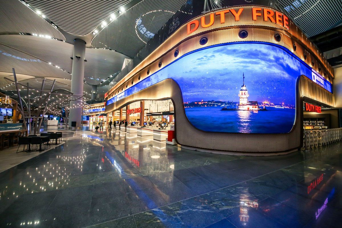 Duty Free at Istanbul's New Airport