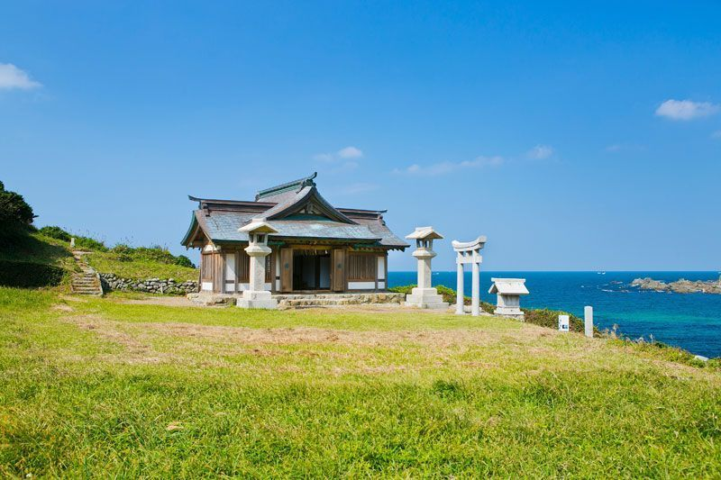 Shrine Building Of Okitsu Unesco Photo