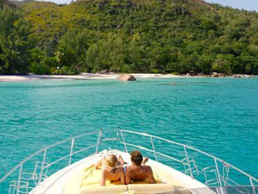 Seychelles fromboat
