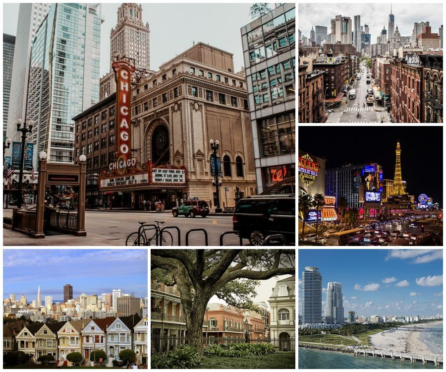 Must visit USA cities