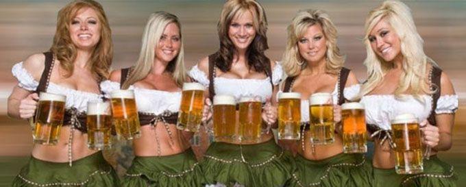 beer tasting girls