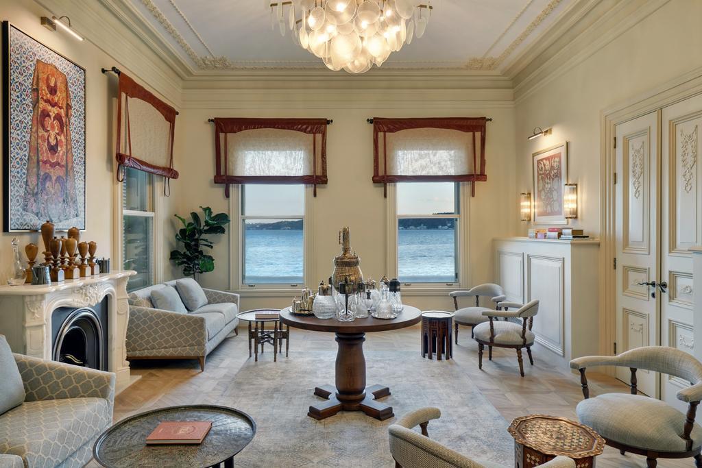 Six Senses Kocatas Mansions living room