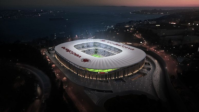Vodafone Park in Istanbul hosts 2019 UEFA Super Cup