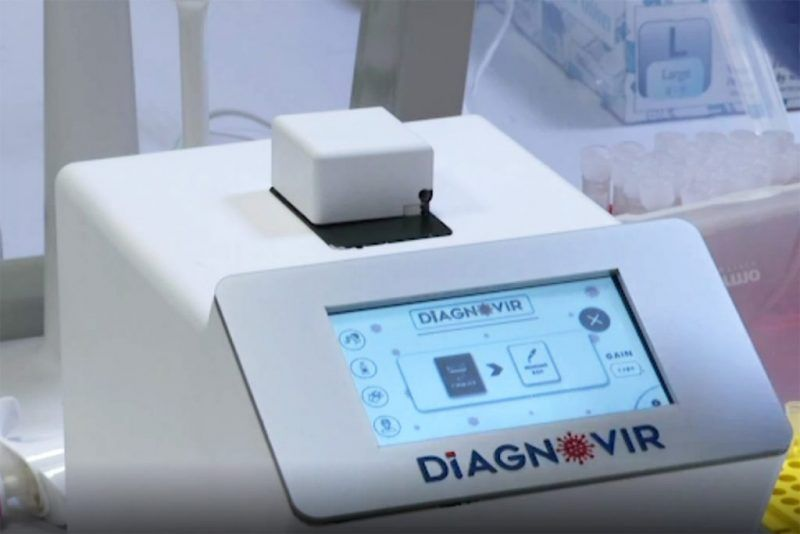 Diagnovir ultra fast covid-19 test