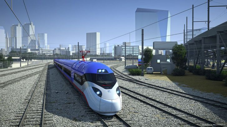 Amtrak to upgrade trainsets