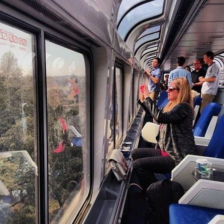 Amtrak adds a new Route from New York City to Washington, D.C.