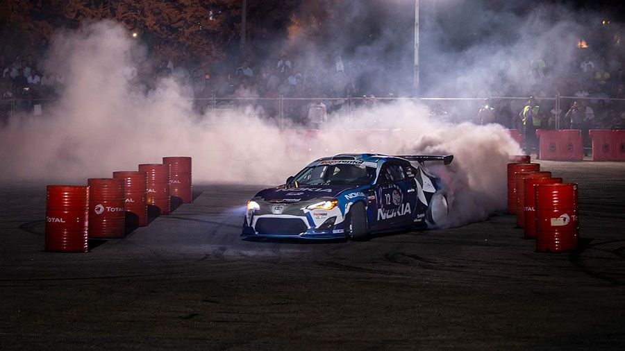 Red Bull Car Park Drift