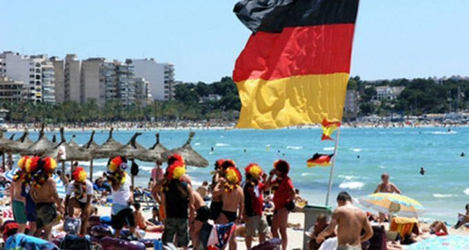 Most popular travel destinations of German travelers